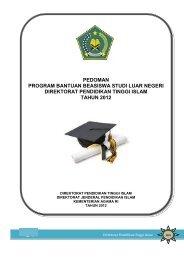 pedoman program bantuan beasiswa studi luar negeri direktorat