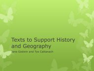 Texts to Support History and Geography - Penguin Books Australia