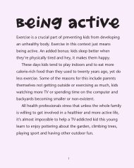 being active - Penguin Books Australia