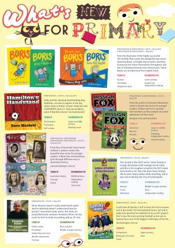 What's New for Primary? - Penguin Books Australia