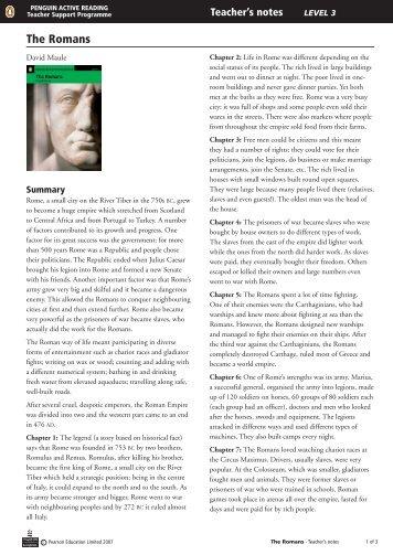 The Romans - Penguin Readers
