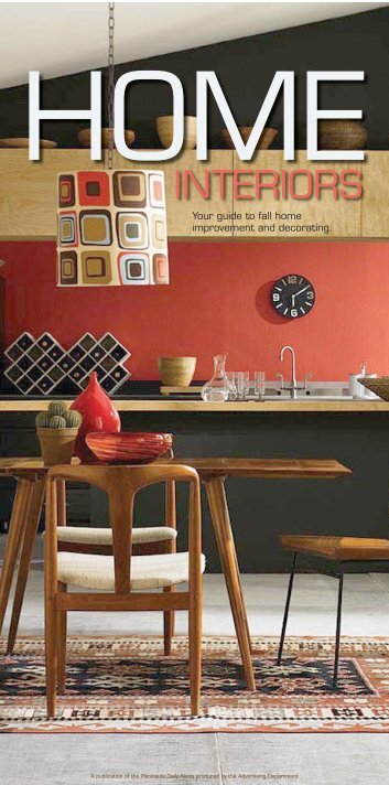 Your guide to fall home improvement and decorating.