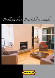 Brilliant heat. Beautiful to watch. - Peninsula Fireplace Centre