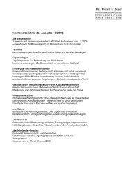 Inhaltsverzeichnis der Ausgabe 10/2009: