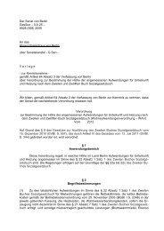 Der Senat von Berlin GesSoz – II A 25 – 9028 ... - DIE LINKE. Berlin