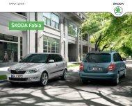 Åkoda Fabia Katalog (PDF) - DHT Automobile