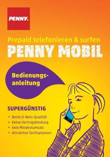 Prepaid telefonieren & surfen - Penny Mobil