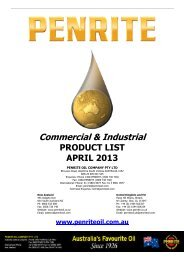 Industrial & Commercial - Penrite