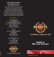 Guide to Oils and Greases July 2011.pdf - Penrite