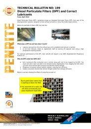 199 Diesel Particulate Filters - Penrite