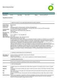 Material Safety Data Sheet BP Degreaser Infosafe No ... - Penrite