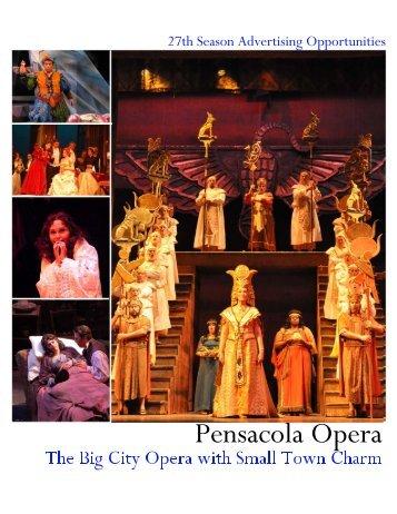 Subscriber Passport listing form - Pensacola Opera