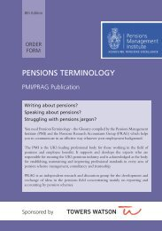 here - The Pensions Management Institute