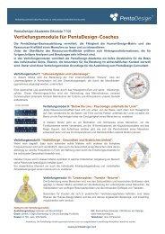 PentaDesign Vertiefungsmodule (PDF)