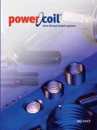 powercoil.com.au wire thread insert system