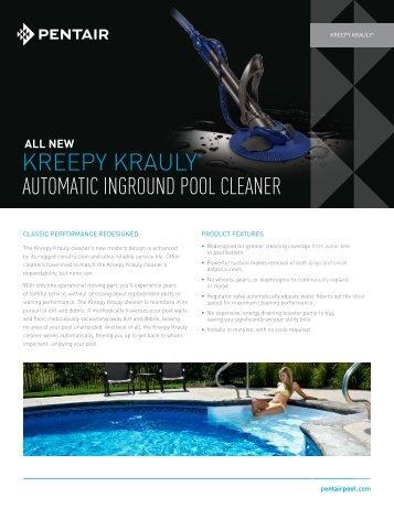 kreepy krauly® automatic inground pool cleaner - Pentair