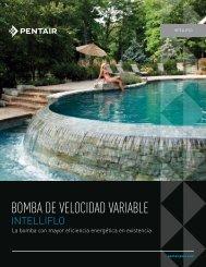 BOMBA DE VELOCIDAD VARIABLE - Pentair
