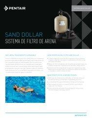 SAND DOLLAR SISTEMA DE FILTRO DE ARENA - Pentair