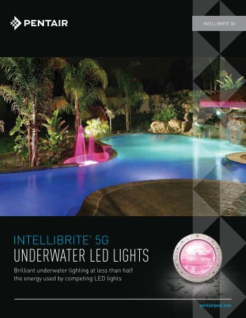IntelliBrite 5g Underwater LED Lights - Pentair