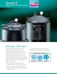 System:2 Mod D.E. Filters for Inground Pools - Pentair