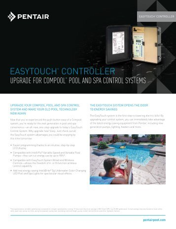 easytouch upgrade for compool pool and spa control pentair?quality=85 iii warnings and importan pentair intellibrite controller wiring diagram at gsmportal.co
