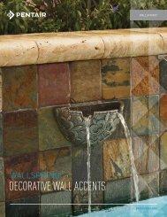 WallSpring Decorative Wall Accents - Pentair