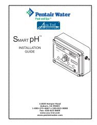 Smart pH installation Guide.indd - Pentair