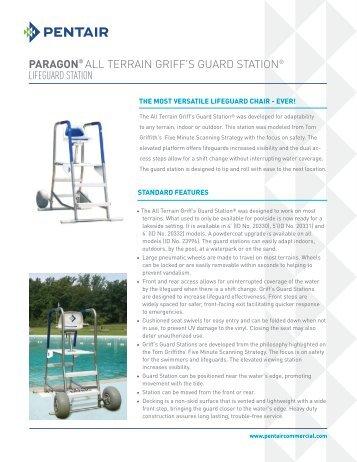 PARAGON® ALL TERRAIN GRIFF'S GUARD STATION ... - Pentair