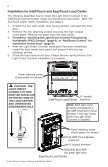 Light Direct Connect Kit Installation and User's Guide - Rev ... - Pentair - Page 4