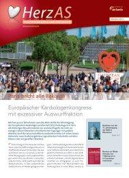 Europäischer Kardiologenkongress mit exzessiver Auswurffraktion