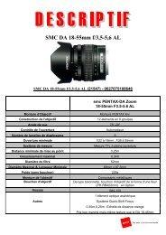 SMC DA 18-55mm f/3,5-5,6 AL - Pentax