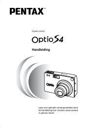 Optio S4 - Pentax
