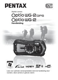 Optio WG2 - Pentax