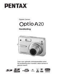 Optio A20 - Pentax