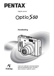 Optio S50 - Pentax
