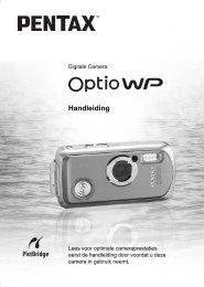 Optio WP - Pentax