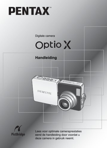 Optio X - Pentax