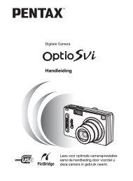Optio SVi - Pentax