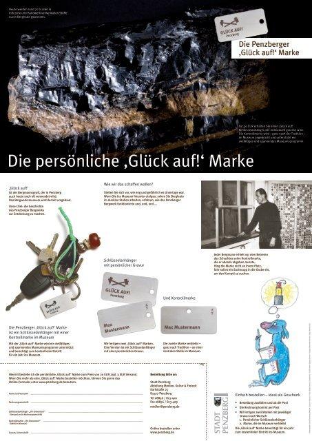 Die persönliche 'Glück auf!' Marke - Penzberg