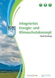 Integriertes Energie- und Klimaschutzkonzept - Penzberg