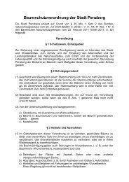 Baumschutzverordnung der Stadt Penzberg