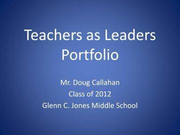 Doug Callahan: Jones MS - Gwinnett County Public Schools