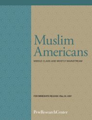 Muslim Americans - Pew Research Center