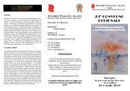 25° convegno regionale - Peoplecaring.telecomitalia.it - Telecom Italia