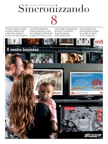 Il nostro business - Peoplecaring.telecomitalia.it - Telecom Italia