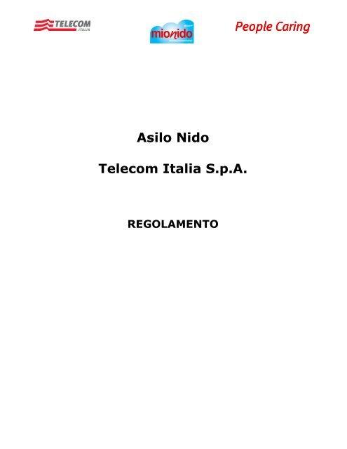 People Caring Asilo Nido Telecom Italia S.p.A.
