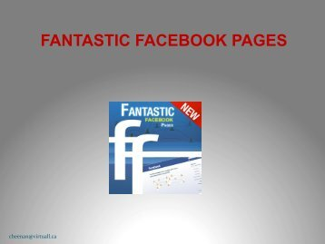 FANTASTIC FACEBOOK PAGES - People for Education