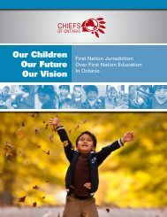 Our Children Our Future Our Vision - People for Education