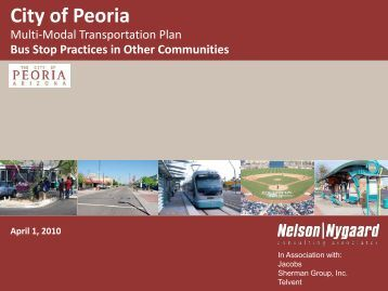 Art Bus Shelters - City of Peoria, Arizona