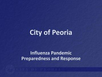 History / Background - City of Peoria, Arizona